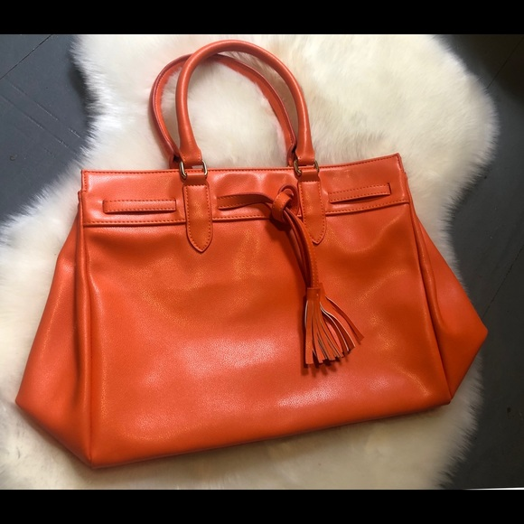 398639929d57 Faux leather inspired Birkin bag